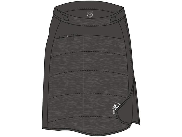 Maloja W s KilchisM. Primaloft Skirt charcoal - addnature.com 02a354f8b0586